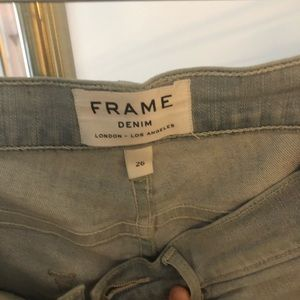 Frame jeans sz 26 good condition